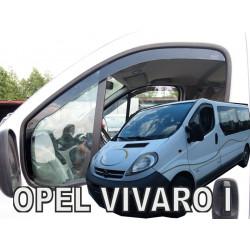 OPEL VIVARO 2001 → 2014 Langų vėjo deflektoriai priekinėms durims