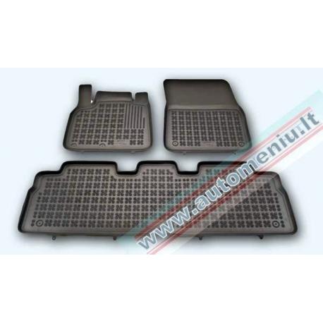 Renault Espace IV 2002 → 2014 Guminiai kilimėliai su loveliu