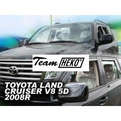 TOYOTA LAND CRUISER V8 5 durų 2008 → Langų vėjo deflektoriai priekinėms durims