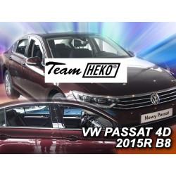VOLKSWAGEN PASSAT B8 4 durų 2014 → (+OT) Sedanas Langų vėjo deflektoriai keturioms durims
