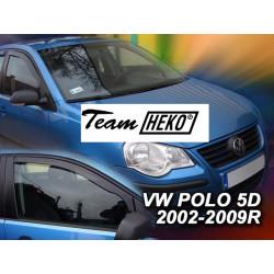 VOLKSWAGEN POLO 5 durų 2002 → 2009 Langų vėjo deflektoriai priekinėms durims