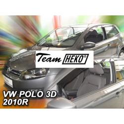 VOLKSWAGEN POLO 3 durų 2009 → Langų vėjo deflektoriai priekinėms durims