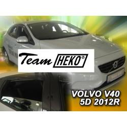 VOLVO V40 5 durų 2012 → (+OT) Langų vėjo deflektoriai keturioms durims