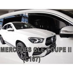 MERCEDES GLE Coupe C167 2019 → Langų vėjo deflektoriai keturioms durims