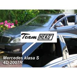 MERCEDES S W221 4 durų 2005 → 2013 (+OT) Langų vėjo deflektoriai keturioms durims