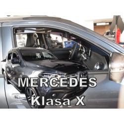 MERCEDES X 4 durų 2017 →Langų vėjo deflektoriai priekinėms durims
