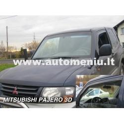 Mitsubishi Pajero Wagon 2002-> dvieju duru priekinems durims