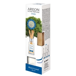 Areon BLACK CRYSTAL HOME STICKS 85 ml , kvapnios lazdelės