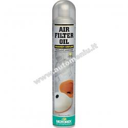 Tepalas sportiniams oro filtrams MOTOREX AIR FILTER OIL 750