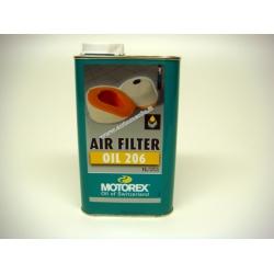 Tepalas sportiniams oro filtrams MOTOREX AIR FILTER OIL 206