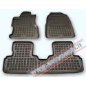 Honda Civic 3-durys 2001 → 2005 Guminiai kilimėliai su borteliais