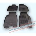 Honda Civic 3 dur./5 dur.2006 → 2012 Guminiai kilimėliai su borteliais