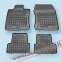 Honda Accord 2008 → Guminiai kilimėliai su borteliais