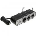 SKIRSTYTUVAS 3 LIZDŲ 12v + 1 USB