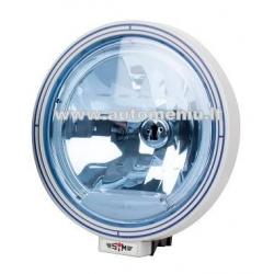 Halogenai SIM su LED apvadu mėlynu stiklu