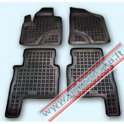 Hyundai Santa Fe II 2007 → 2012 Guminiai kilimėliai su borteliais