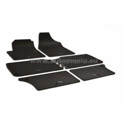 Seat Alhambra 1996 → 2009 7-vietoms guminiai salono kilimėliai