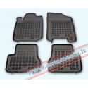 Citroen C3 2002 → 2009 su vieta gesintuvui Guminiai kilimėliai su borteliais