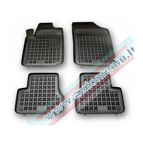 Citroen C3 2002 → 2009 be vietos gesintuvui Guminiai kilimėliai