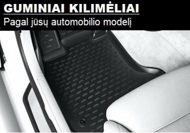 Guminiai modeliniai salono kilimėliai automeniu